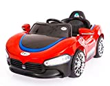 Toy House Sports Rechargeable Battery Painted Ride-on Car (Red, THROC001-2Red)