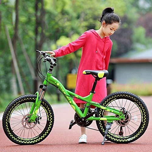 YJTGZ Fahrräder Outdoor-Fahrrad for Kinder 18/20 Zoll Junge Mädchen Fahrrad Student Outdoor-Fahrrad Junge Und Mädchen Reisen Mountainbike (Color : Pink, Size : 18inch)