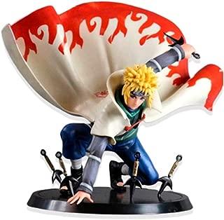 zhongjiany 16cm Anime Figure Jouet Naruto Namikaze Minato Figurine Statues Collections( Colorful)
