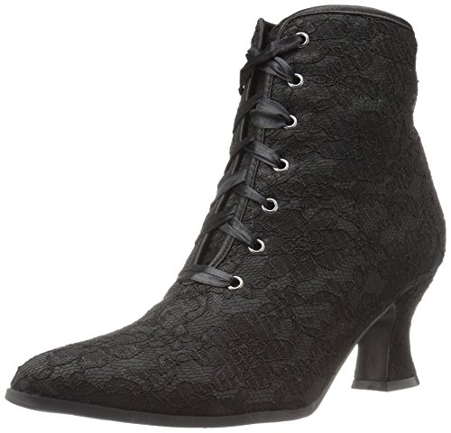 Ellie Shoes Women's 253-elizabeth Ankle Bootie, Black, 8 M US