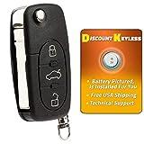 Discount Keyless Replacement Uncut Car Remote Fob Key For Volkswagen Beetle Jetta Passat Golf HLO1J0959753F