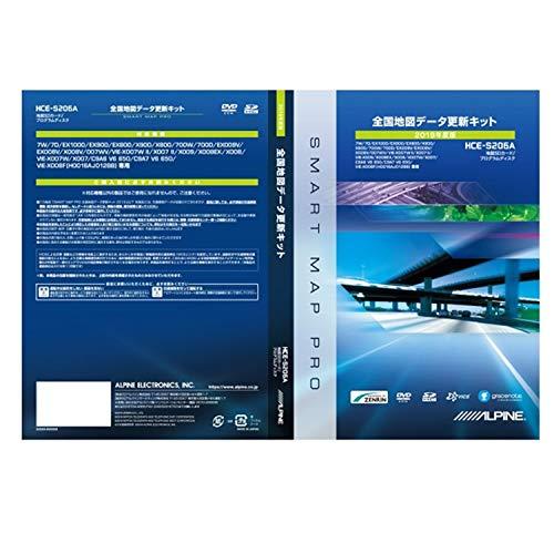 ALPINE(アルパイン) X009/X008/X007シリーズ向け【2019年度地図更新データ】 HCE-S206A
