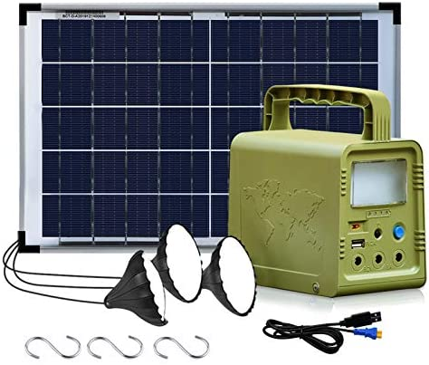 ECO WORTHY 84Wh Portable Power Station Solar Generator with 18W Solar Panel Flashlights Camp product image