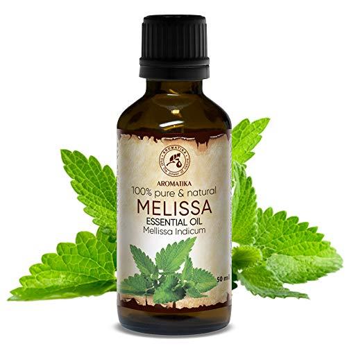 Oli di melissa 50 ml - Melissa Indicum - India - 100%...