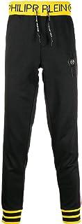 PHILIPP PLEIN Men's F19CMJT1233PJO002N02 Black Polyester Joggers