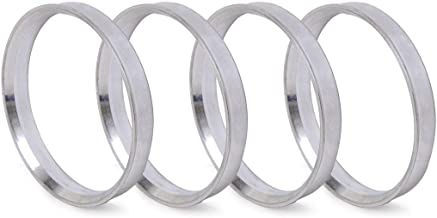 Pack of 4 Hubcentric Center Ring Fits 72.56mm Vehicle Hub to 74.1MM Wheel Centerbore Polycarbon Hub Centric Rings 74.1mm OD to 72.56mm ID NB-AERO
