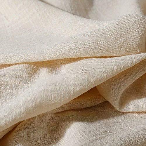 Tela de lino, 130 x 100 cm, lino natural puro, cambric, ecológica, telas para manualidades, pintura, decoración del hogar, patchwork y ropa
