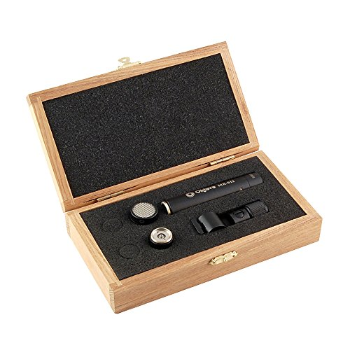 Oktava MK-012-01 Kleinmembran Kondensator Mikrofon mit Nieren-Kapsel (schwarz)