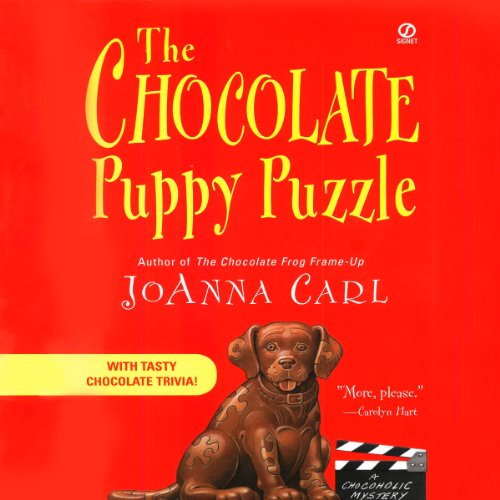 The Chocolate Puppy Puzzle audiobook cover art