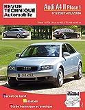 E.T.A.I - Revue Technique Automobile B730.5 - AUDI A4 II - 8E PHASE 1 - 2001 à 2004