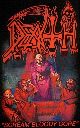 Scream Bloody Gore Textil Poster