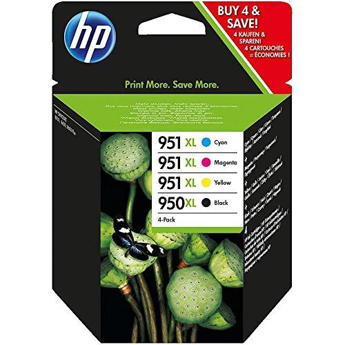 HP 950XL951XL Multipack Original Druckerpatronen Schwarz Blau Rot Gelb mit hoher Reichweite fur HP Officejet Pro 276dw 8600 8610 8620 251dw 8100
