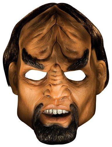 Star Trek Raumschiff Enterprise Deluxe Latex Maske Klingone Worf