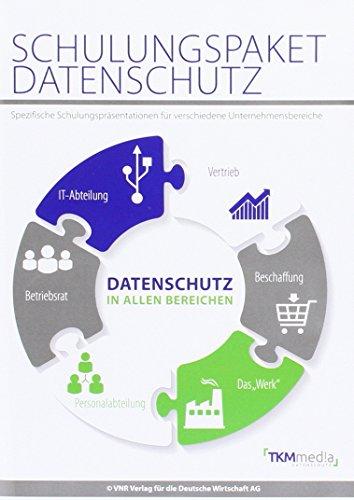 Schulungspaket Datenschutz, CD-ROMSpezifische Schulungspräsentationen für die verschiedenen Unternehmensbereiche