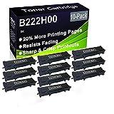 10 cartuchos de impresora láser B2236DW, MB2236ADW, MB2236ADWE (alta capacidad) de repuesto para Lexmark B222H00
