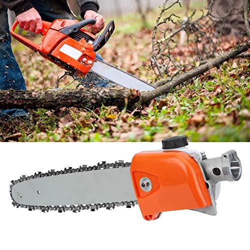 Yencoly Accesorios para cortacésped Accesorios para cortacésped de aleación de Aluminio, Sierra de Cadena de poda, 26 mm para Rban Gardens Roads Lawn Garden(9 Teeth)