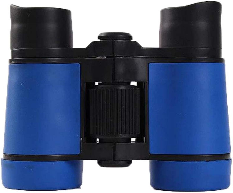 XJRHB Rubber Grip Anti-Skid Telescope Binocular Fishing Telescope (color   bluee)