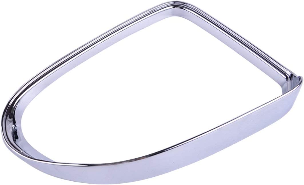 SHENYIcar interiors Safety and trust Max 72% OFF 2PCS ABS Chrome Eye Rain Rearview Car Mirror