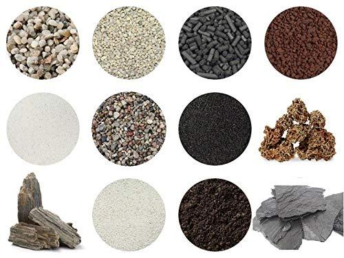 RETNE Starterset XL voor het maken van mini-tuin, terrarium, tuin, terrarium/biotop/ecosysteem.