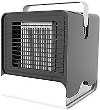 YAOHEHUA Luchtkoeler USB Draagbare Airconditioner Luchtbevochtiger Luchtreiniger met Nachtkastje Desktop Koelventilator vo...