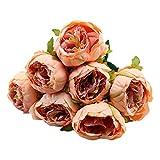 Pivoine Fleurs Artificielles pour Extérieur Romantique Mariage Célébration Maison Decor haute qualité Fausse Fleur Faux Plante
