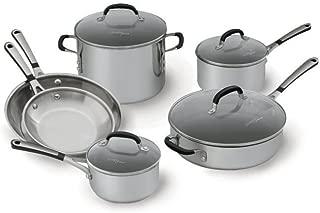 Best simply calphalon stainless steel 10 piece cookware Reviews