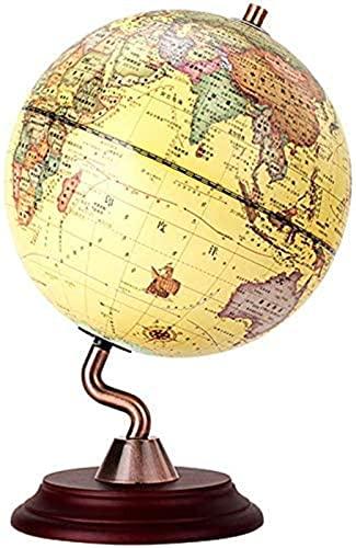 Weltkugeln mit Holzständer für Kinder - Bildungsweltkugel mit...