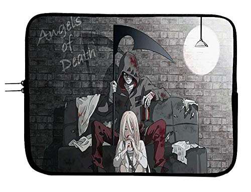 Angels of Death Anime Laptop Sleeve Bag 11 Inch Tablet & Computer Case Bag - Conveniently Transport Your Laptop/Tablet in Style - Fits Laptops & Tablets 11.6 Inch Anime Bag