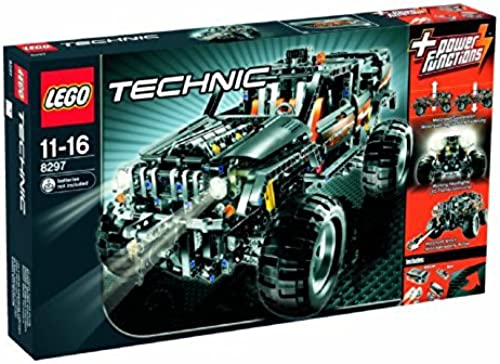 LEGO Technic 8297 - Größer Gel ewagen