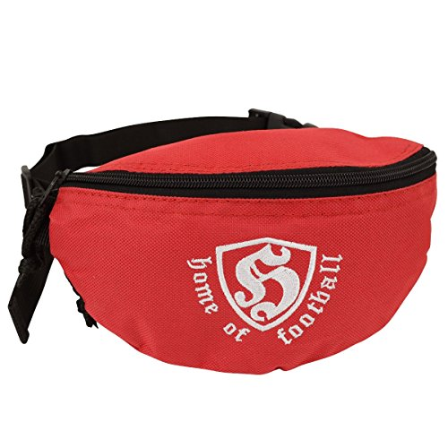 Hooligan Gürteltasche Hip Bag HOF rot - Einheitsgrösse