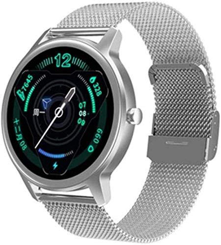 JSL Hombres Y Mujeres Al Aire Libre 1 28 Pulgadas Sueño Saludable Cronómetro Reloj De Frecuencia Cardíaca Bluetooth Impermeable Multi-Deportes Multi-Función Reloj Inteligente-F-B