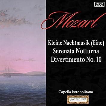 Mozart: Kleine Nachtmusik (Eine) - Serenata Notturna - Divertimento No. 10