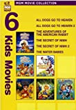 MGM Movie Collection - Six Kids Movies (All Dogs Go to Heaven / All Dogs Go to Heaven 2 / The Adventures of the American Rabbit / The Secret of NIMH / The Secret of NIMH 2 / The Waterbabies)