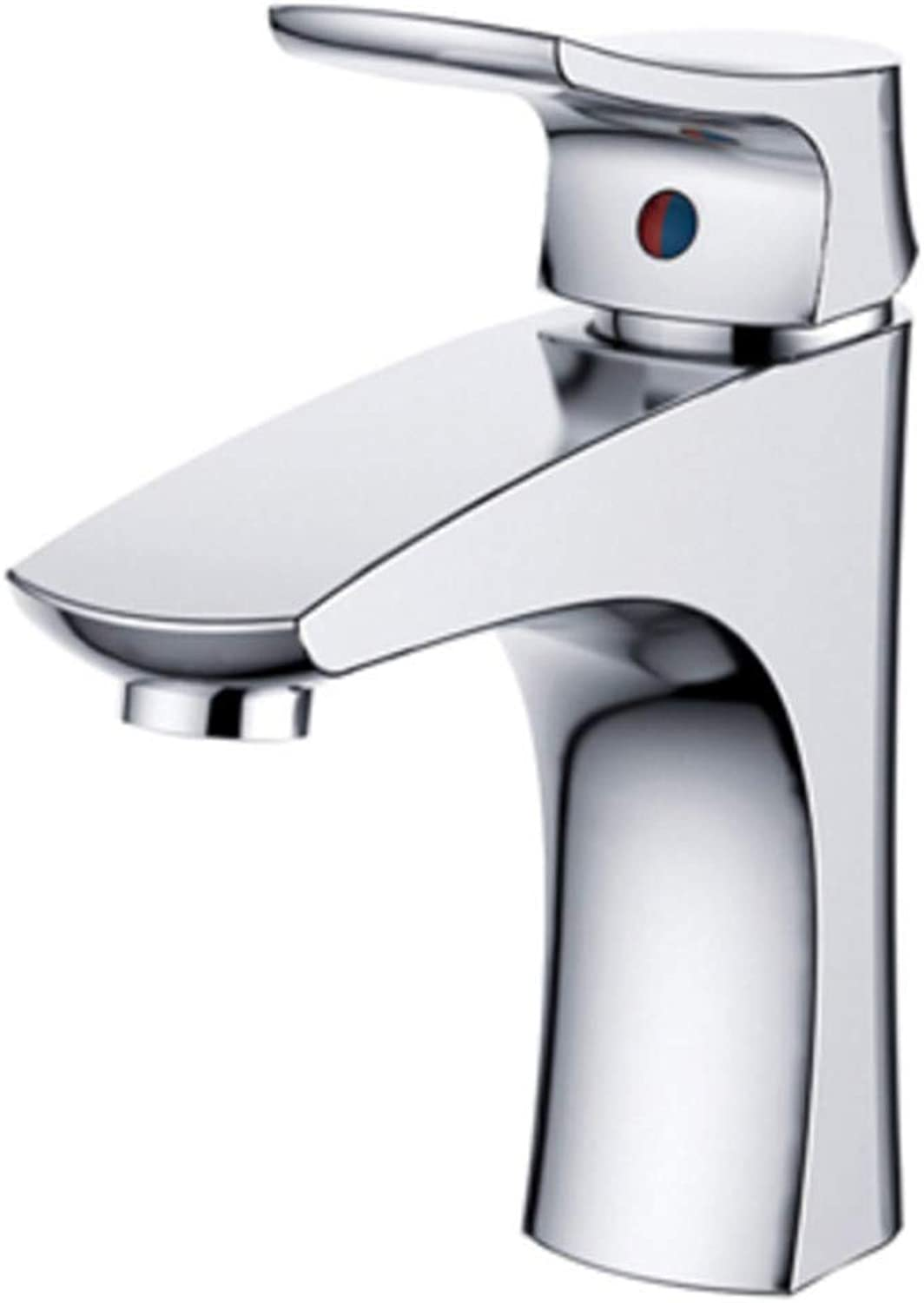 Faucet Washbasin Great Quality at A Great Price New Basin Faucet Bath Basin Faucet Mixer Mixer Waterfall Bathroom Chrome Hot and Cold Water Faucet Deck