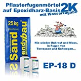 trendybau 2K Pflasterfugenmörtel DränFuge EP-18 D natur 26,8 kg