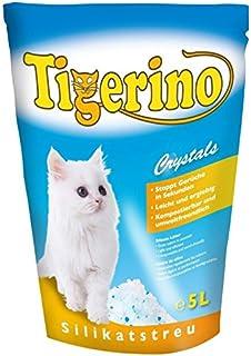 Tigerino Crystals - 6paquetes de 5l de arena de
