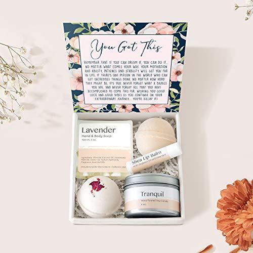 Motivational Gift Spa Box Set - IInspirational Gift, Motivational Quotes, Encouragement, Empowering, Inspirational Card & Spa Gift to Encourage Loved One