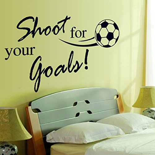 Top 14 soccer wall decals for boys room for 2021