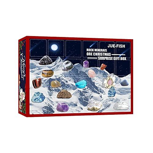 Aznever Rocks Stone Rock Mineral Juguetes educativos innovadores Premium para niños, niñas y niños Colección de Rocas