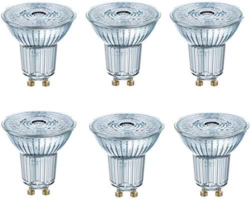 OSRAM LED STAR PAR16 35 GU10 2,6W=35W 230lm 36° Warm White 2700 K nondim A++ 6er