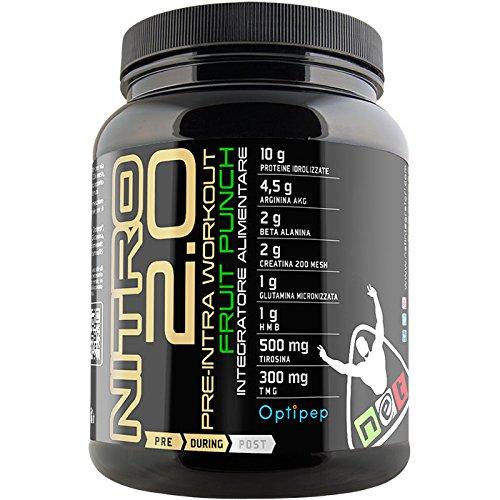 Net Nitro 2.0 Pre-Intra Workout 600 g. Fruit Punch