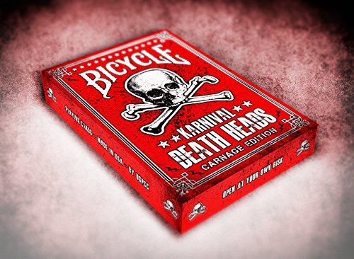 Karnival Carnage Death Heads Deck Playing Cards Cartes à jouer