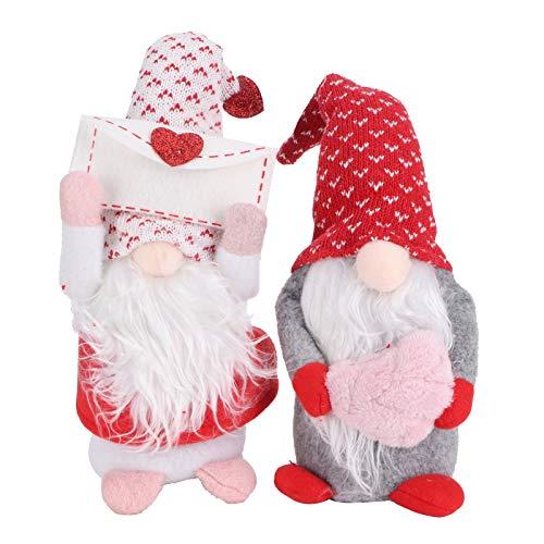 【𝐎𝐬𝐭𝐞𝐫𝐧】 Gesichtslose Puppe, Exquisite Verarbeitung Home Decoration Baumwollpuppe, Puppenspielzeug für Wohnzimmer