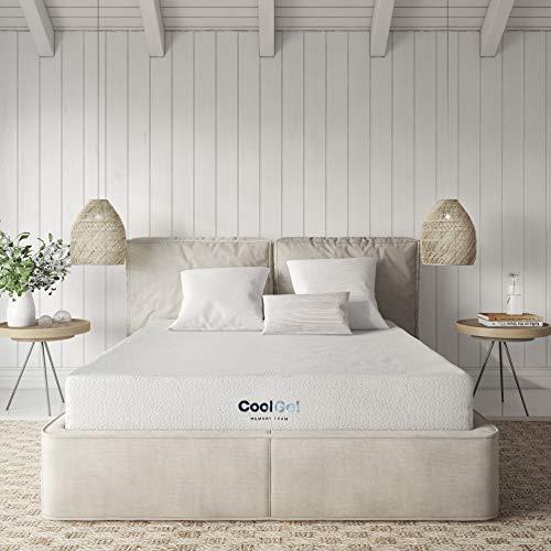 Classic Brands Cool Gel Memory Foam 8-Inch Mattress   CertiPUR-US Certified   Bed-in-a-Box, King