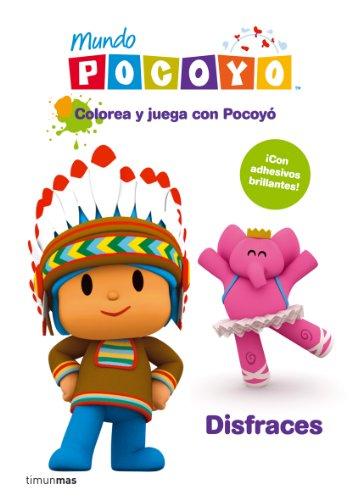 Colorea y juega con Pocoy. Disfraces: Libro de actividades con adhesivos (Pocoyo)