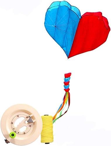 ahorra hasta un 50% Cometa Cometa Cometa En Forma De Corazón Adultos Corazón A Corazón Brisa Fácil De Volar Fácil De Llevar (Tamaño   C)  cómodo