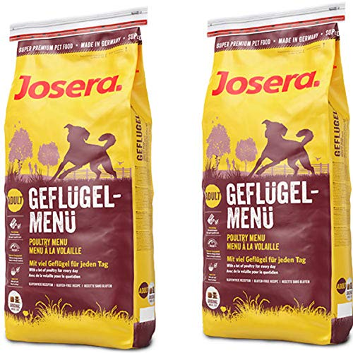 Josera 2 x 15 kg Geflügel-Menü Sparpaket