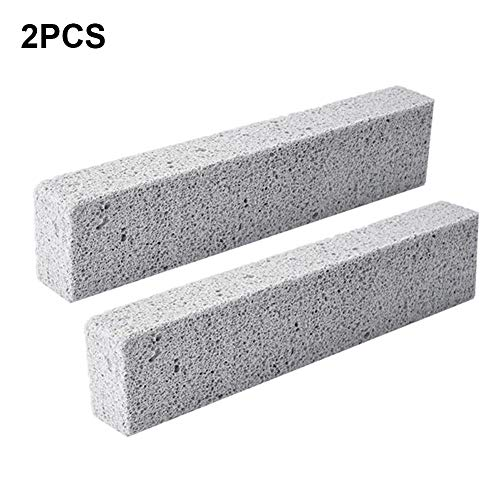 Funihut vuurvaste steen, baksteen, grill, vuurvaste plaat, 15 × 3,5 × 2,5 cm, 2 stuks
