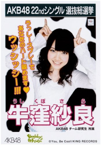 AKB48公式生写真 22ndシングル選抜総選挙 Everydayカチューシャ 劇場盤【牛窪紗良】
