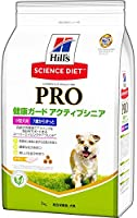 ヒルズ サイエンス・ダイエット〈プロ〉 ドッグフード 健康ガード アクティブシニア 小型犬用 7歳からずっと 高齢犬用 3kg